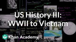 US History Overview 3 - WWII to Vietnam