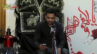 Qari Nadeem Najafi   Majlis Shab-e-Zarbat Imam Ali (a.s.)  2017-1438   Sajjad Bagh, Lucknow