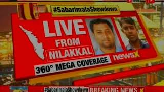 Sabarimala Showdown: Doors to open for women at 5pm; protesters try to stop women