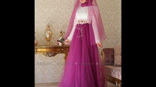 Ulviye Portakal Tesettür Abiye Elbise Modelleri