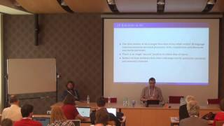[HeadLex16] Haug, Goldstein: Second-position clitics and the syntax-prosody interface: Ancient Greek