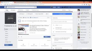 how to share Youtube Video In Facebook Page