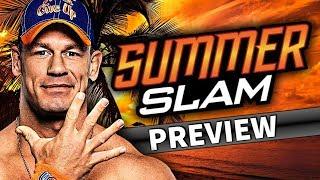 WWE SummerSlam 2017 - PPV Preview/Vorschau (Deutsch/German)