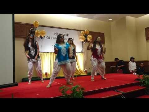 Bollywood Dance - HSBC GTRF Department Dinner 2016