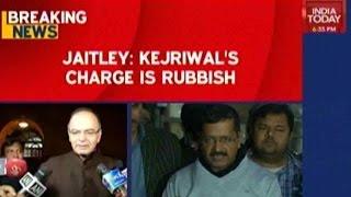 Arun Jaitley: Kejriwal's Charge Is Rubbish