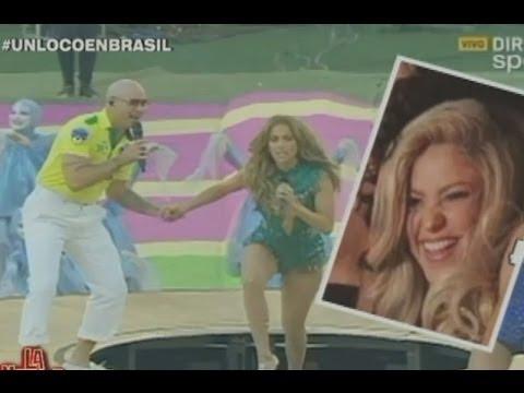 Xxx Mp4 La Noche Es Mía Shakira Rajó De La Inauguración Con JLo Y Pitbull 3gp Sex