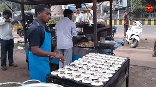 Amazing Hotel in kakinada 54 Sponge dosa in Single Paan || Apple Street Food