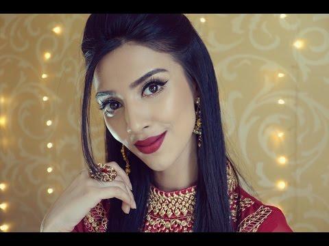 TUTORIAL | Bold Lips Eid Look 4