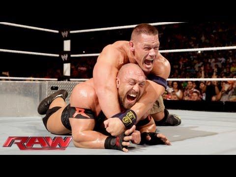John Cena vs. Ryback - Tables Match: Raw, July 29, 2013