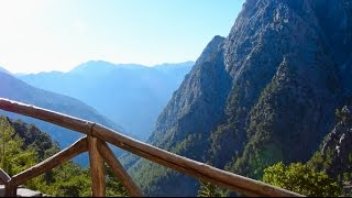 Samaria Gorge - A trip through the mountain