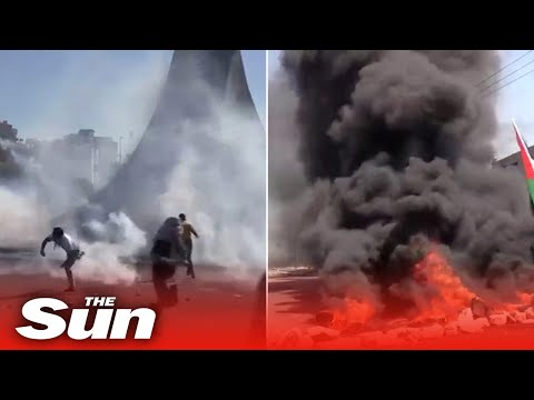 Israel Deadly violence engulfs the West Bank leaving ten dead after Gaza bomb blitz
