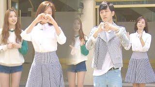 'GooWon Couple' Jin Goo ♥ Kim Ji Won, lovely heart dance! 《Running Man》런닝맨 EP429