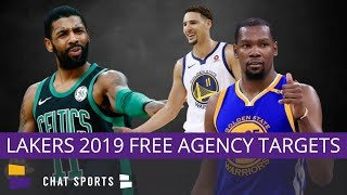 Lakers Rumors: Top 5 Lakers Free Agents Targets In 2019 - Kevin Durant, Klay Thompson, Kyrie Irving