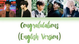 DAY6 (데이식스) - Congratulations English Color Coded Lyrics