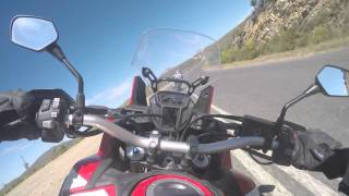 Honda CRF1000L Africa Twin - Onboard - Topspeed