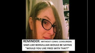 SJW Comic Pros Remind Us That They DO NOT VALUE CONSUMERS. DO NOT SUPPORT THEM.
