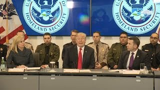 President Trump Participates in a Customs and Border Protection Roundtable
