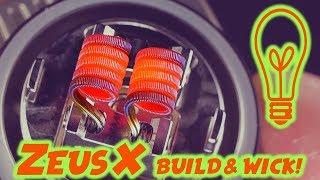 How To Build & Wick The ZEUS X RTA By Geek Vape!