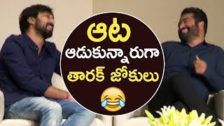 Jr NTR Hilarious Jokes On Director Bobby | Jai Lava Kusa | TFPC