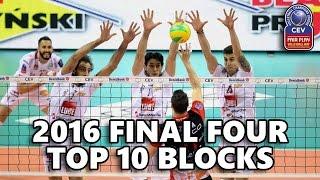 TOP 10 BLOCKS - European Champions League FINAL 4