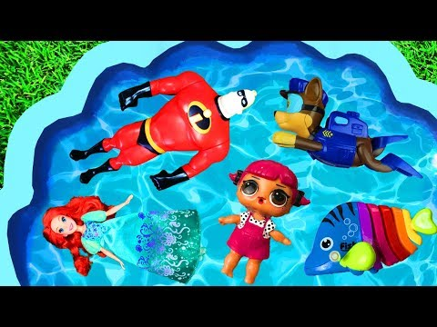 Learn Characters with Super Heroes Pj Masks Barbie Disney Princesses and Paw Patrol