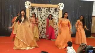 Sangeet Dance || Main Tera Bf | Desi Girl | Nachde ne Saare | Thodakkam Mangalayam || ShaRay 2018