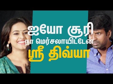 Xxx Mp4 Soori Is Not Only A Comedian He Is A Great Actor Sridivya Comment Cine Flick 3gp Sex