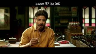 4 Days To Go  Raees Ka Din  Shah Rukh Khan, Mahira Khan, Nawazuddin Siddiqui uploaded on 07-04-2017 975 views