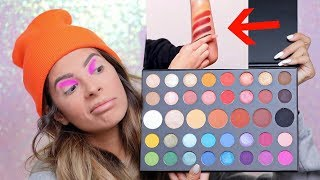 JAMES CHARLES X MORPHE PALETTE HIT OR MISS | SWATCHES