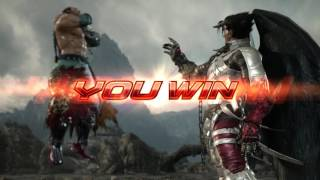 TEKKEN 7 (PS4) - Feng In New Costume Vs. Devil Jin | Precipice of Fate New Mountains Stage