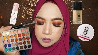 CHATTY GRWM | Trying New Makeup | Jaclyn Hill Palette, Alha Alfa & Dermacol Primer
