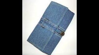 Dompet Cantik Dari Celan Jeans Bekas