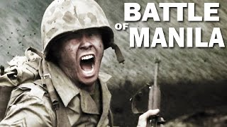 Battle of Manila | 1945 | Liberation of the Philippines by the US Army | Documentary