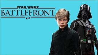 Luke Skywalker vs. Darth Vader FULL MATCH! (Star Wars Battlefront Funny Moments)