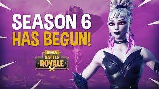 Season 6 Has Begun and Its Awesome!! - Fortnite Battle Royale Gameplay - Ninja