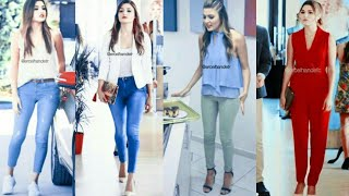 Hayat dresses collection/Hayat inspired college, office lookbook