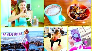 Easy Ways to be Healthier! My Fit Tips & Tricks