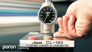 PORON Comfort Labs – Elements of Comfort:  Material Hardness Measurement with Asker C