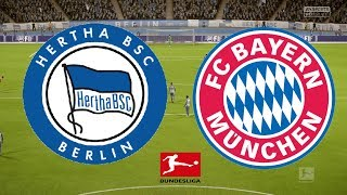Bundesliga 2018/19 - Hertha Vs Bayern Munich - 28/09/18 - FIFA 18