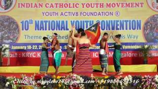 East Timor  Cultural programme at ICYM - NYC 2017 Mangaluru