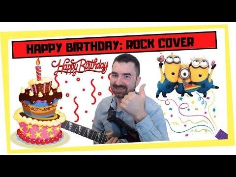 Cumpleaños feliz versión Rock Happy Birthday Rock cover