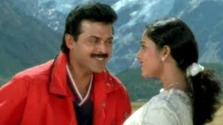 Soundarya & Venkatesh Super Hit Video Song || Kavvinchake O Prema Song || Volga Videos
