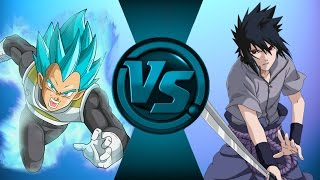 Vegeta vs Sasuke! (Dragon Ball Z vs Naruto) Salt Assault
