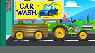 Tractor   Car Wash   Farm Vehicles