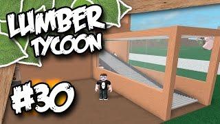 Lumber Tycoon 2 #30 - CONVEYOR HOUSE (Roblox Lumber Tycoon)