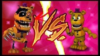 FNAF WORLD THE RETURN TO NIGHTMARE'S FULL VERSION (fan-game) 2018