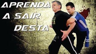 COMO SAIR de um Agarramento Pelas Costas #ArtesMarciais e Defesa Pessoal Kung Fu