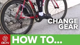 How To Change Gear On Your Bike   Road Bike Shifting Made Easy