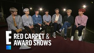 BTS Boys Reveal Fans' Weirdest Requests and More! | E! Live from the Red Carpet