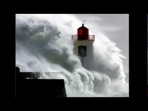 Faros de Mar En la tempestad.wmv